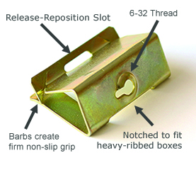 [SCHEMATICS_4PO]  G-Clip - Quick and easy repair of stripped and broken plastic electrical  boxes | Fuse Box Repair Clips |  | www.g-clip.us